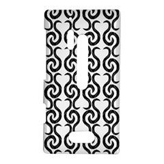 White and black elegant pattern Nokia Lumia 928