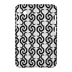 White and black elegant pattern Samsung Galaxy Tab 2 (7 ) P3100 Hardshell Case