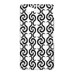 White and black elegant pattern Sony Xperia Z1 Compact