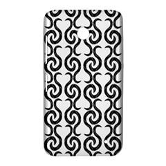 White and black elegant pattern Nokia Lumia 630