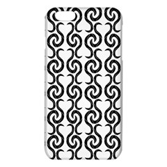 White and black elegant pattern iPhone 6 Plus/6S Plus TPU Case