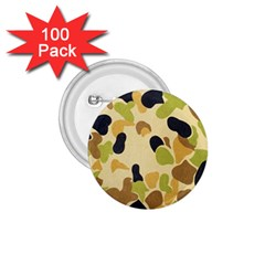 Camouflage Pattern Army 1.75  Buttons (100 pack)
