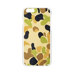 Camouflage Pattern Army Apple Seamless iPhone 6/6S Case (Transparent)