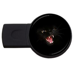 Cat Animal Cute USB Flash Drive Round (1 GB)