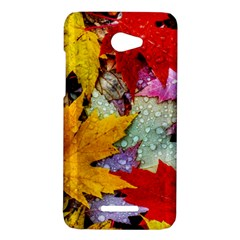 Coloorfull Leave HTC Butterfly X920E Hardshell Case