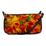Colorful Fall Leaves Shoulder Clutch Bags Front