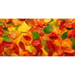 Colorful Fall Leaves You Are Invited 3d Greeting Card (8x4)