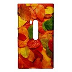 Colorful Fall Leaves Nokia Lumia 920