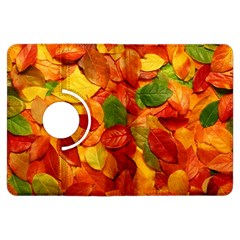 Colorful Fall Leaves Kindle Fire HDX Flip 360 Case