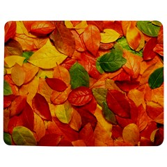 Colorful Fall Leaves Jigsaw Puzzle Photo Stand (rectangular)