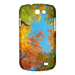Colorful Leaves Sky Samsung Galaxy Express I8730 Hardshell Case