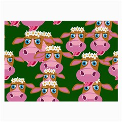 Cow Pattern Large Glasses Cloth (2-Side)