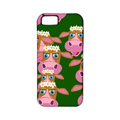 Cow Pattern Apple iPhone 5 Classic Hardshell Case (PC+Silicone)