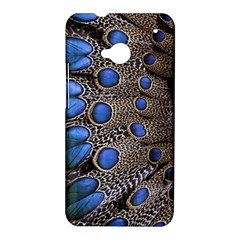 Feathers Peacock Light HTC One M7 Hardshell Case