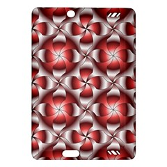 Floral Optical Illusion Amazon Kindle Fire HD (2013) Hardshell Case