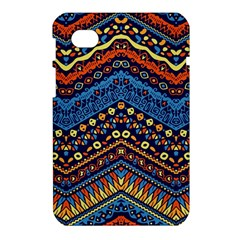 Cute Hand Drawn Ethnic Pattern Samsung Galaxy Tab 7  P1000 Hardshell Case