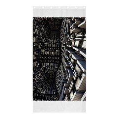 Fractal Art Pattern Shower Curtain 36  x 72  (Stall)