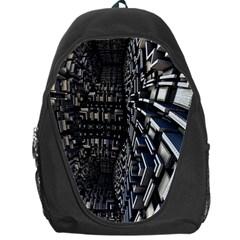 Fractal Art Pattern Backpack Bag