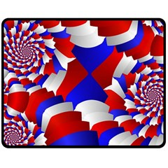 Happy Memorial Day Fleece Blanket (Medium)