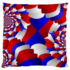 Happy Memorial Day Large Flano Cushion Case (Two Sides)