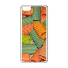 Macaroni Rigatoni Rotini Lasagna Corkscrew Apple Iphone 5c Seamless Case (white)