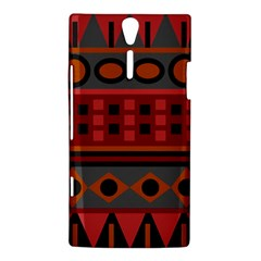 Red Aztec Sony Xperia S
