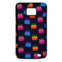 Seamless Tile Repeat Pattern Samsung Galaxy S II i9100 Hardshell Case (PC+Silicone)