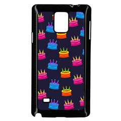 Seamless Tile Repeat Pattern Samsung Galaxy Note 4 Case (Black)