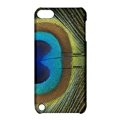 Single Peacock Apple iPod Touch 5 Hardshell Case with Stand