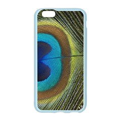 Single Peacock Apple Seamless iPhone 6/6S Case (Color)