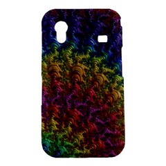Fractal Art Design Colorful Samsung Galaxy Ace S5830 Hardshell Case