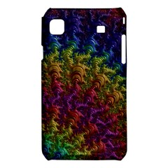 Fractal Art Design Colorful Samsung Galaxy S i9008 Hardshell Case