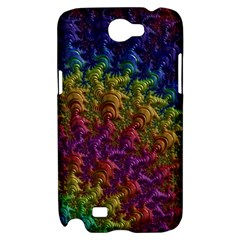Fractal Art Design Colorful Samsung Galaxy Note 2 Hardshell Case