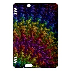 Fractal Art Design Colorful Kindle Fire HDX Hardshell Case
