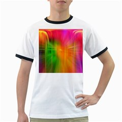Texture Background Ringer T-Shirts