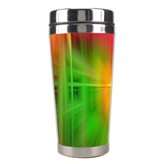 Texture Background Stainless Steel Travel Tumblers