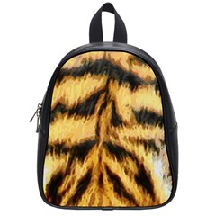 Tiger Fur Painting School Bags (Small)