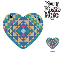 Tiling Pattern Playing Cards 54 (heart)
