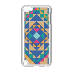 Tiling Pattern Apple iPod Touch 5 Case (White)