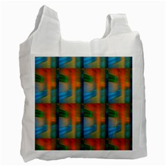 Wall Of Colour Duplication Recycle Bag (One Side)