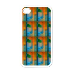 Wall Of Colour Duplication Apple iPhone 4 Case (White)