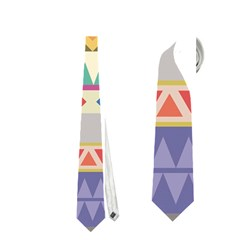 Your First Aztec Pattern Neckties (One Side)