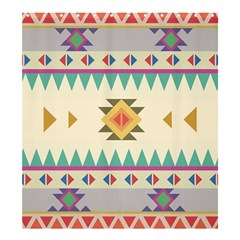 Your First Aztec Pattern Shower Curtain 66  x 72  (Large)