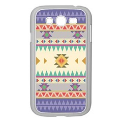 Your First Aztec Pattern Samsung Galaxy Grand DUOS I9082 Case (White)