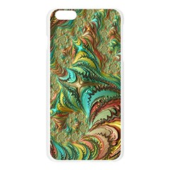 Fractal Artwork Pattern Digital Apple Seamless iPhone 6 Plus/6S Plus Case (Transparent)