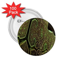 Fractal Complexity 3d Dimensional 2.25  Buttons (100 pack)