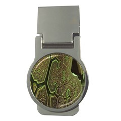 Fractal Complexity 3d Dimensional Money Clips (Round)