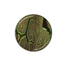 Fractal Complexity 3d Dimensional Hat Clip Ball Marker (4 pack)