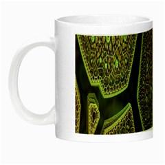 Fractal Complexity 3d Dimensional Night Luminous Mugs