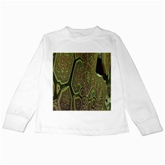 Fractal Complexity 3d Dimensional Kids Long Sleeve T-Shirts